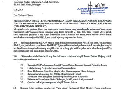 15-11-18-Masjid Taman Sutera-Cop Diterima dr MB Selangor-1