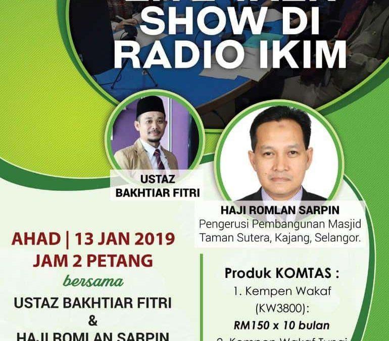 TALK SHOW DI IKIM FM SIRI KE 3