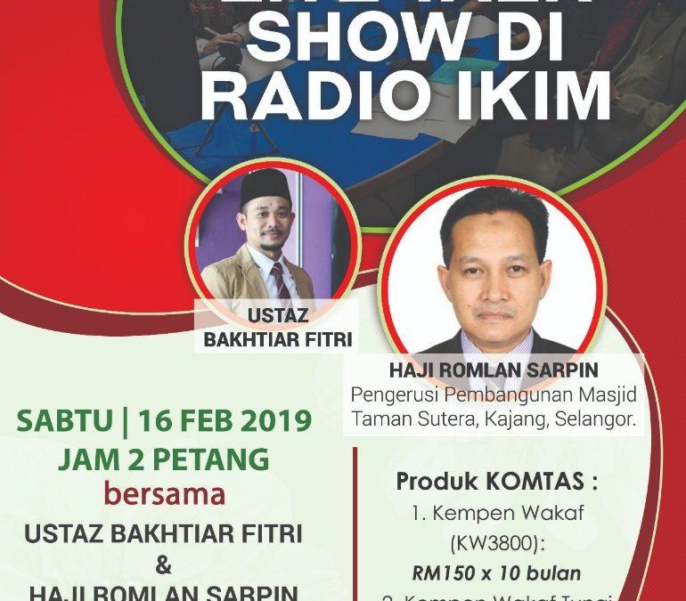 PROMOSI DANA DI IKIM FM