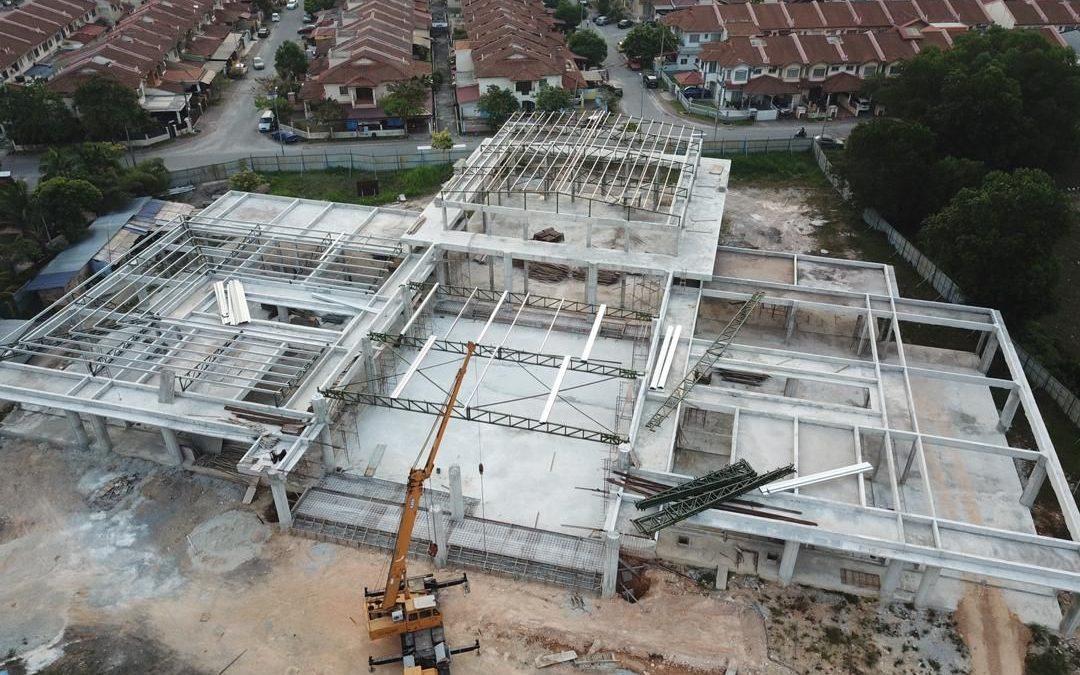 Status Pembinaan Masjid @ 18 Mac 2019